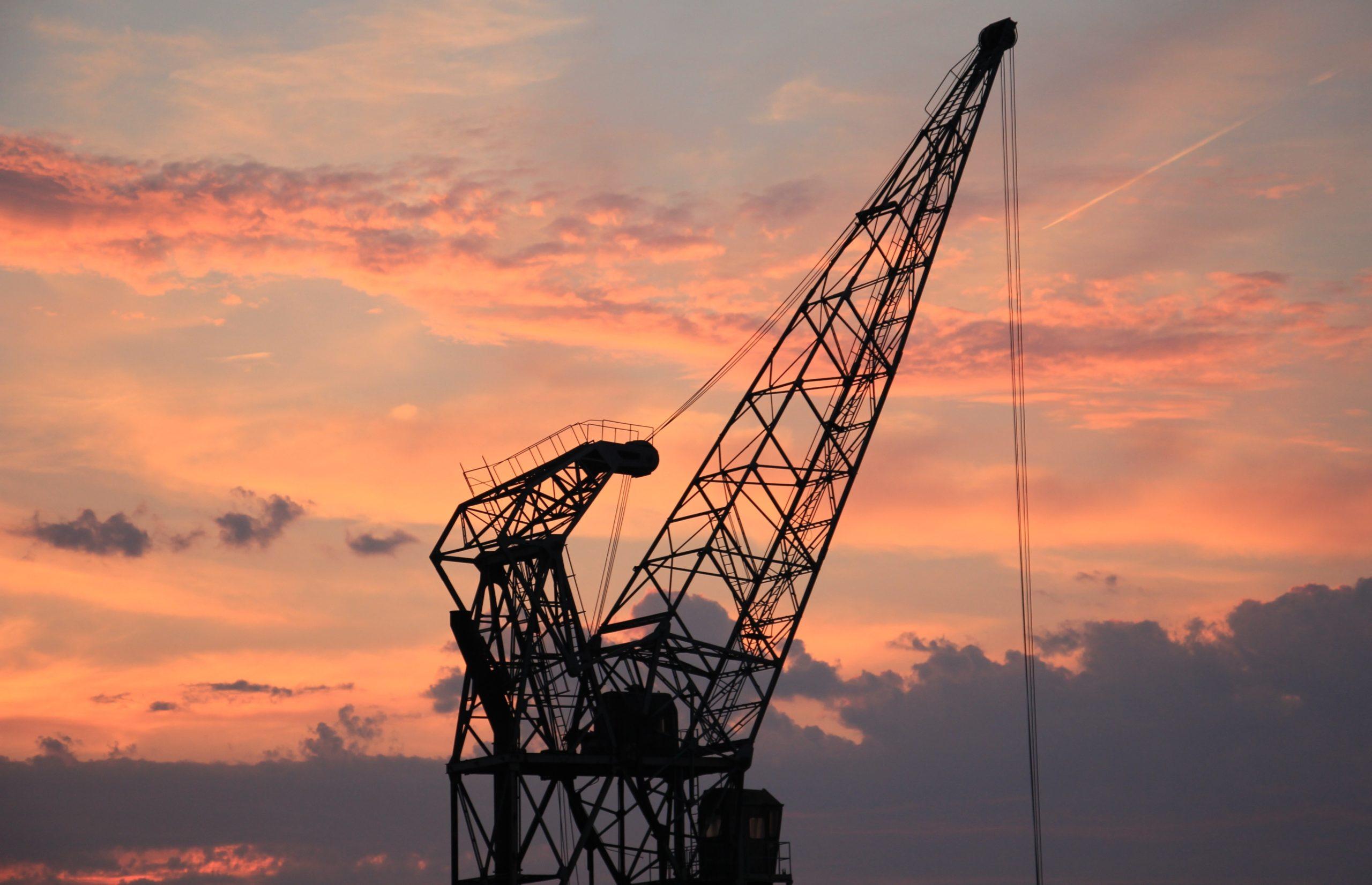 Industry industrial grua