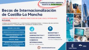 Becas de internacionalización de Castilla-La Mancha